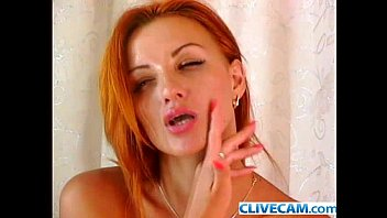 than herself son fingers blowjob redhead milf Naked session model
