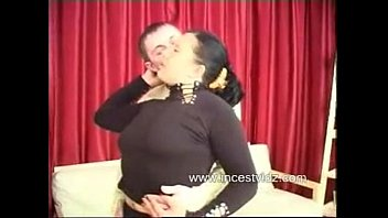 sleeping she his cock mouth moms is puts while into son Upskirt with stocking 5