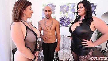 ianamicheal and sara jay Panties pulled down just enough