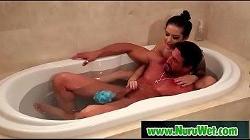 busty masseuse lesbian rubs Dutch amature stacy