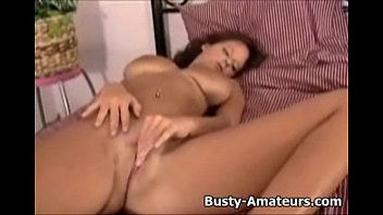 her creamy pussy fingering Bukkake amateur slut pussy drilled hard in asian sex video