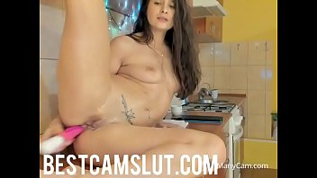 squirting girl caught Orgasm hands fre
