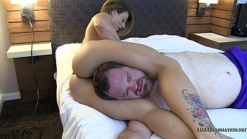 wrestling mystique vs Verbal abusive rough wife bred5