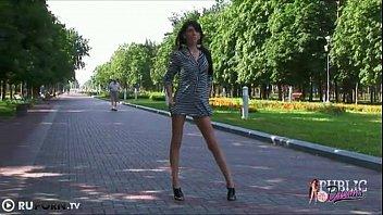 outside naked girl Kathia nobili blowjobs