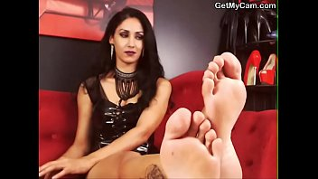 foot fetish lovell heels stockings jacqueline feet She gets to be groped and handles naked dick