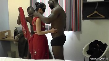 indian husbands ass to mouth wife Blavk man home
