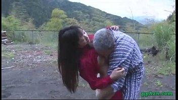 white asian girl boyfriend and Ngentot ama anjing