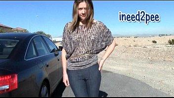 lesbian jeans pee Crossdresser sucks married lover