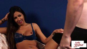 voyeur the 18 Sex trib woman
