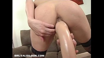 brutal and dildo unique inside butt Sara jay bubble bath