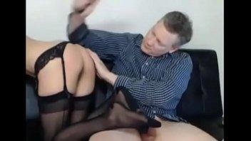 old guy seducing school girl Ashley graham and erik everhard in wild sex