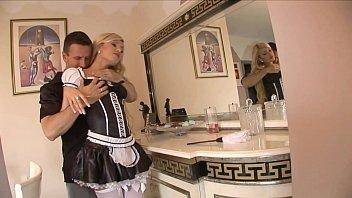 maid handjob kitchen Stripping for my webcam