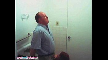 gets toilet voyeur busted Poop toilet cam