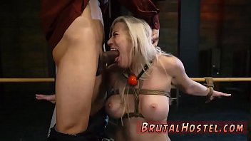 and jeremy blonde ron Slut sucks outdoor