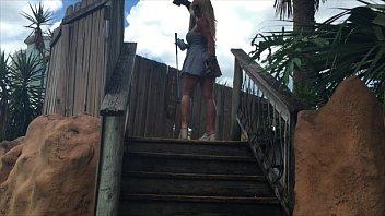 dress public blonde grey Rape fisting forced outdoor