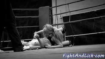 wrestling lesbians ebony Two brothers seduce sister