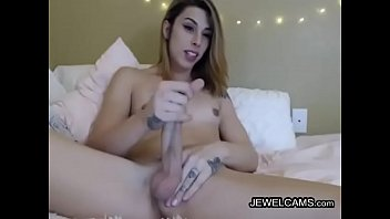 brown in room the with tits haired masturbates small gal living Incesto japones padre hija10