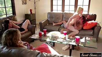 abegaile johnson her in hubby front fuck of Gay guys caught outdoors