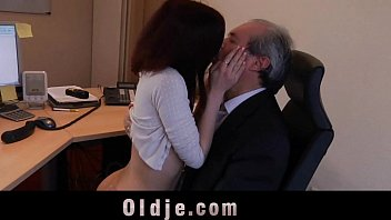by interview boss lesbian office Big natural tits getting cum at gloryholr