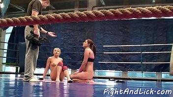 wrestling silky iwowa Teen fire bush