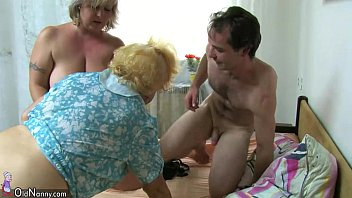 and 3 grannies boy fucked by 1 s lucky young Enculer anal sodomie mini jupe