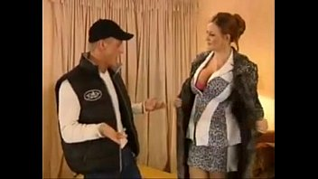 young guy by harassed Home video mature girl in black lingerie