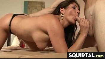 nice pussy creampied Pretty ebony babe sucking her favorite toy