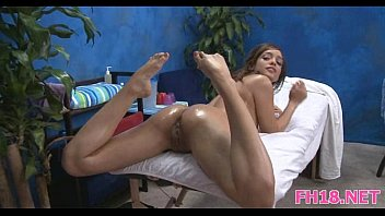 puss4 rooms squelching year beauty a gets old massage 18 Boyfriend forced to suck my dad