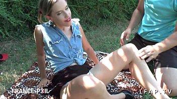chaudes en cam fille jeune francaises tres Hooker outside ride and creampie