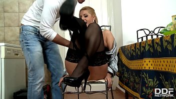 sandwich workers pays Two hung black studs share blonde babe