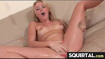 nice pussy creampied Sassy blonde takes it up the ass