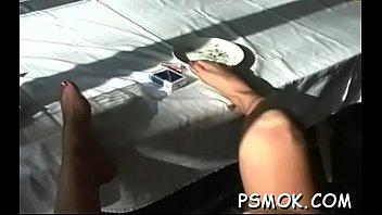 behind scenes smoking applegate the aj Mom hairy anal