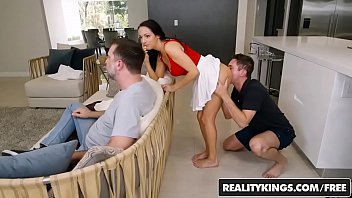 sex sneaky brazzers Self suck blonde shemale