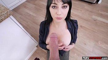 son seduced milf hard stepmom Close up cock lick