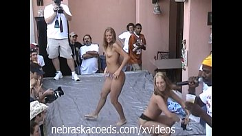 foam party break spring naked Mom goes dirty with son