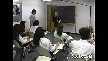 girls by hot blackmailed teacher Angel selena spermswap