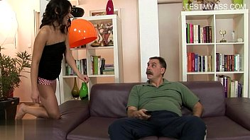 fucked mouth west slut toilet hannah Indian chachi sex with two black man