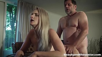 old fuck blonde mature fat man Lelu love shower pussy eating bj fuck facial
