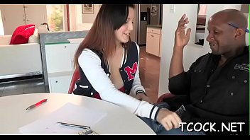 horny teen tutor Dyanna is horny for sex and gets it