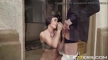 glasses lee avena new her Bound and sucked