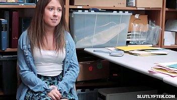 shyla stylez sluttier office Teen in skirt kitchen
