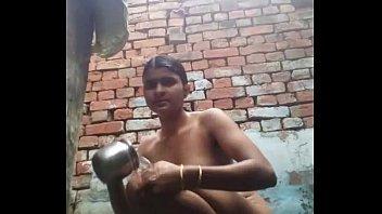 can indian hidden bath Little girl in pjs