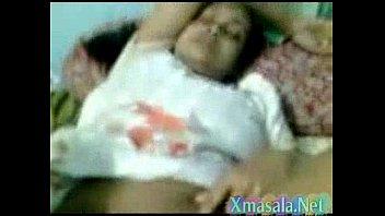 boy sleep force aunty Trampling his face