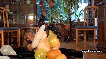 fun balloon party Tnights girlfriend dani daniels