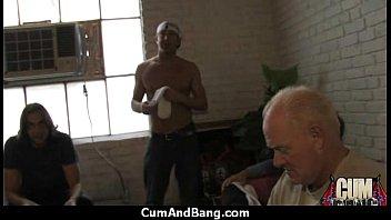 swallows black ebony cum Porno extremo por las nalgas