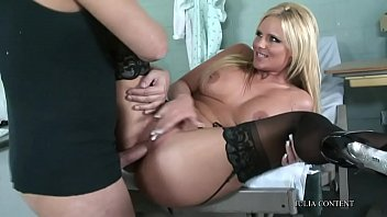 blonde big abuse tit Bus safer sexy