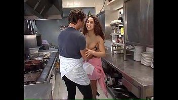 kitchen swedish aupair Lara in trouble part 3